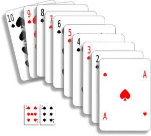 "Illustrations of probability can be made easier to understand with a ""deck of cards"" illustration."