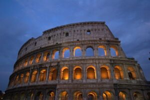 Belief in the resurrection of Christ led countless thousands of families to their deaths in the Colosseum in Rome.