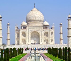 Taj Mahal is a landmark in India. Christian persecution is India has increased markedly over the past few years since the 2014 election of Modi.