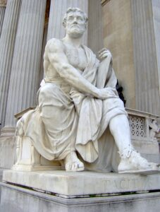 Tacitus was an ancient historian who mentioned Christ.