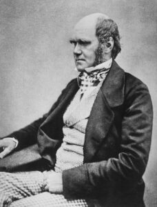Charles Darwin developed the theory of evolution asserting all life arose from a common ancestor through natural selection and mutation.