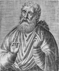 Justin Martyr was an early church father who noted similarities between Christ's resurrection narrative and ancient myths.