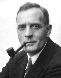 Edwin Hubble made great discoveries about cosmology including distances to galaxies. He was an atheist and resisted the theological implications of his findings.