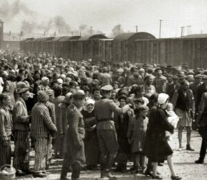 The Holocaust is in the Bible codes, along with names of many Germans involved in the mass slaughter of Jews.