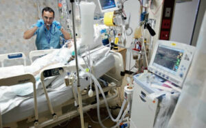 Christians benefit society through their improved health. The intensive care unit is where patients receive the most attentive care; many require mechanical ventilation.