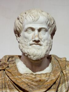 Aristotle believed in the beneficial effects of happiness in general.