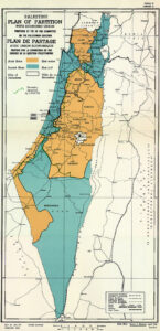There was another attempt to partition Palestine when the British were trying to divest themselves of this problematic territory.
