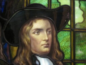 William Penn was the Quaker founder of Philadelphia who tried prison reform to reduce criminals returning to prison.
