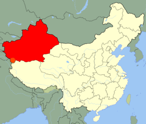 East Turkistan Region of China
