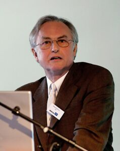 "Richard Dawkins is an evolutionary biologist who is an advocate for the ""New Atheism"""
