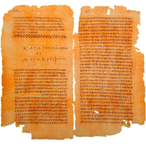 The Gospel of Thomas is a Gnostic Gospel allegedly written by Thomas concerning the teachings of Christ.