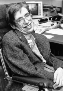 Stephen Hawking is one of the most influential physicists of the twentieth century.