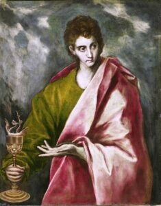 St. John the Evangelist is universally contributed to be the author of the fourth gospel by the early Church Fathers.