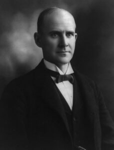 Eugene Debs was a Socialist Politician who ran for President and received millions of votes.