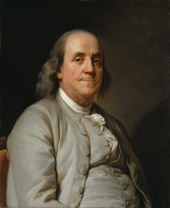 Benjamin Franklin was a Founding Father who founded the first charity hospital in the United States partially by using other people's money.