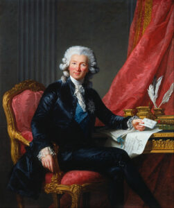 Calonne was the Controller-General of Finances during Louis XVI rule in France just before the Revolution.