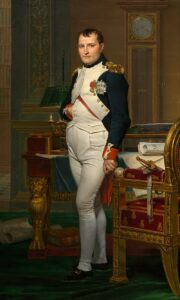 Napoleon was originally from Italy, but rose through the ranks of the French army to eventually assume leadership of France.