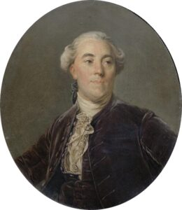 Neckler was hired by King Louis XVI to manage the King's rapidly deteriorating finances but ultimately failed.