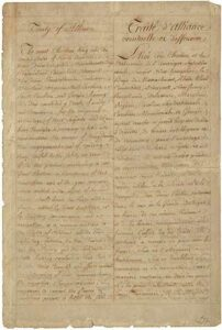 The Treaty of Alliance between France and America