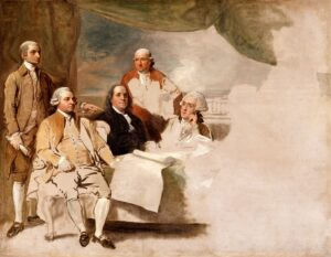 The Treaty of Paris formally ended the Revolutionary War.