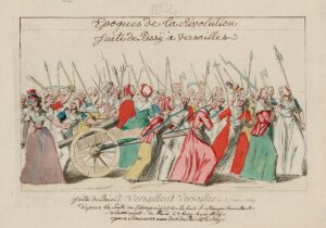 The Women's March on the Palace of Versailles marked the beginning of the end of the French monarchy.