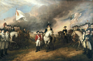 The French Navy helped America defeat the British at the Battle of Yorktown