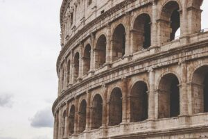 The Roman Empire was brutal to its subjects but had order for centuries.