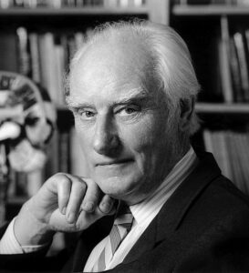Crick who was one of the co-discovers of DNA along with Watson.