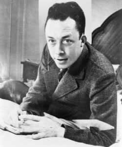 Albert Camus was an influential French philosopher who popularized ideas of the absurdity of life and wrote about existentialism.