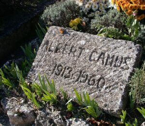 Albert Camus was a very influential French author who converted to Christianity at the end of his life.