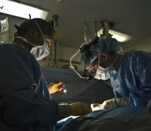 The intensive care unit is where the sickest people in the hospital are treated.
