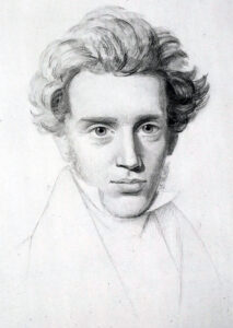 Kierkegaard was a Christian Lutheran existentialist who offered Christianity as the answer to the apparently meaninglessness of life.