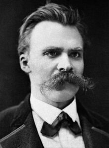Nietzsche believed there was no reason for life, and that existence was meaningless. This leads to despair and his ultimate instanity.