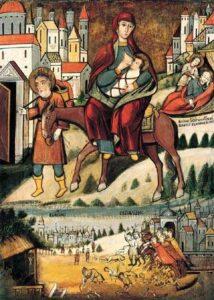 Christ was taken to Egypt to escape Herod's desire to kill him/.