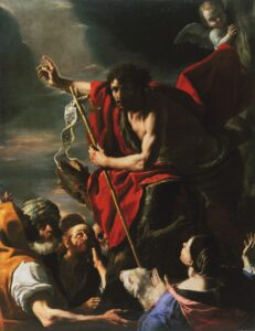 John the Baptist was a first cousin of Christ who prepared the way for his first coming.