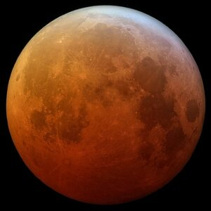 A lunar eclipse occurred in the evening following the Crucifixion.