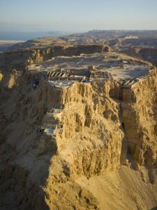 Masada was the last Jewish stronghold to surrender to the Roman forces during the First Jewish Wars in 73 AD.