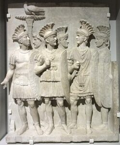 The Pretorian Guard were hand picked loyal Roman soldiers who would protect the Emperor.