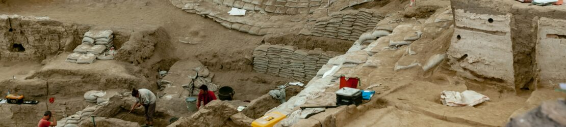 The City of Ziklag was found at an ancient archaeological site in Israel.