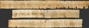 The Isaiah Scroll containing most of the Biblical book of Isaiah including Isaiah 53 predicting Christ's dead written hundreds of years before Christ was born.